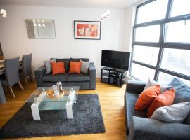 The Smugglers, Town Centre Apartment near Train station and Ipswich Waterfront, apartment in Ipswich
