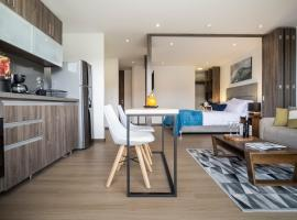 72 HUB Apartments - Pool - Gym - Sauna - Pet Friendly, hotel en Bogotá