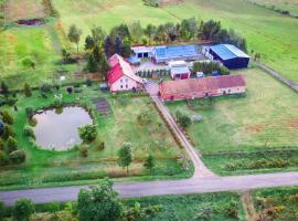 Agroturystyka nad stawem, family hotel in Wydminy