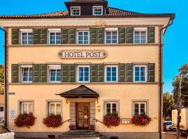 Hotel Post Leutkirch, Hotel in Leutkirch im Allgäu
