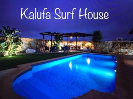Kalufa Surf House, hostel in El Cuchillo