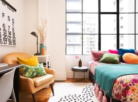 Deluxe Heritage Apartment near Viaduct, apartment in Auckland
