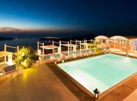 Andromeda Villas & Spa Resort, hotel with jacuzzis in Imerovigli
