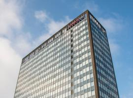 Hampton by Hilton Birmingham Broad Street, accessible hotel in Birmingham