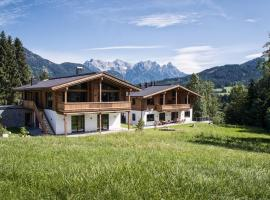 Zeitfrei Chalet Apartments, hotel in Fieberbrunn