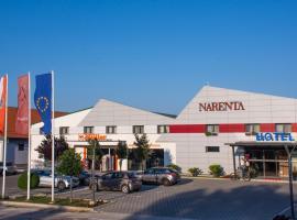 Hotel Narenta, hotel u Metkoviću