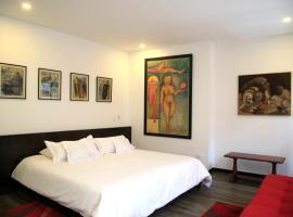 Hotel Museo San Moritz, hotel en Bogotá