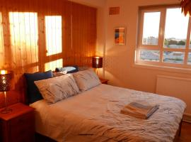 Double room with a view over north London, hotel with jacuzzis in London