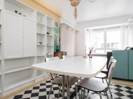 Gezellig app in de Belle Époque wijk van Oostende, appartement à Ostende