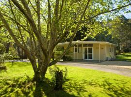 Russell Falls Holiday Cottages, apartamento em National Park