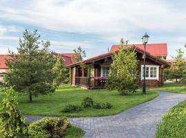 Hotel FishPoint Family Resort (Zolotoy Sazan), hotel in Podolsk