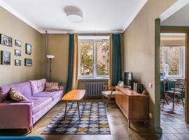 Khomytovsky retro flat, hotel near Bauman Garden, Moscow