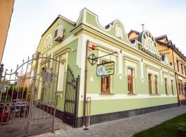 Pension Kokel, hotel in Dumbrăveni