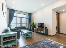 Scandinavian Apt✩2Brs✩City view✩Sun Grand Ancora, apartment in Hanoi