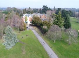 Coulsdon Manor Hotel and Golf Club, country house in Croydon