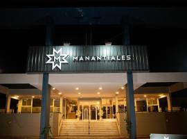 Manantiales Hotel de Turismo, hotel en Monte Caseros