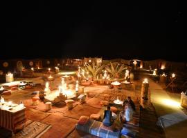 Desert Bivouac Mhamid, luxury tent in Mhamid