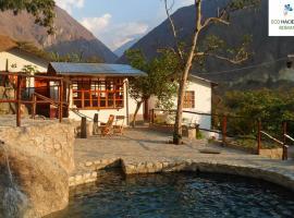 Eco Hacienda Roman, hotel in Machu Picchu