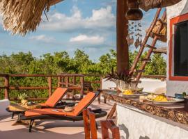 Villa Los Mangles Boutique Hotel, hotel in Holbox Island