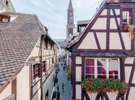 Le Carré d'or - Appartement avec vue Cathédrale, hotel near Kammerzell House, Strasbourg