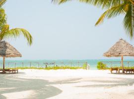 Bwejuu Beach Palm Villa, homestay in Bwejuu