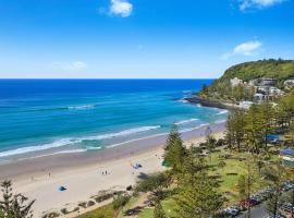 Pacific Regis Beachfront Holiday Apartments, hotel in Gold Coast