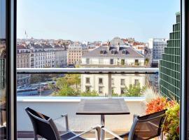 Aparthotel Adagio Genève Mont-Blanc, hotel in Geneva