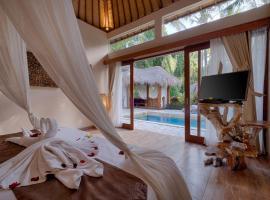 Kutus Kutus Mas Ubud Villa, hotel in Ubud