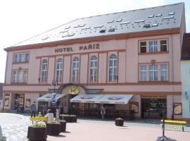 Hotel Paříž, hotel v destinaci Jičín