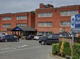 Best Western Heath Court Hotel, hotel in Newmarket