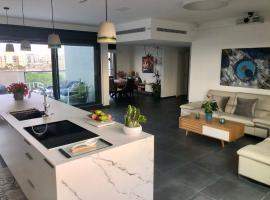A room in breathtaking new designed penthouse in SE TLV, מלון ליד בית החולים תל השומר, תל אביב