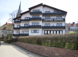 hotel rappen, hotel in Baiersbronn