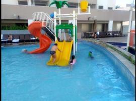 Apartamento Olímpia Park Resort, hotel em Olímpia