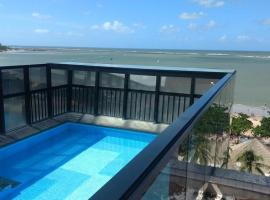 Apartamento Beira Mar Top na Pajuçara - Maceio, pet-friendly hotel in Maceió