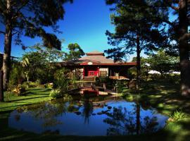 Pousada Mevlana Garden, hotel with pools in Barra de Ibiraquera