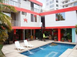 Hostal Antares, hotel in Manta