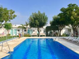 Hostal Las Cumbres, hotell i Conil de la Frontera