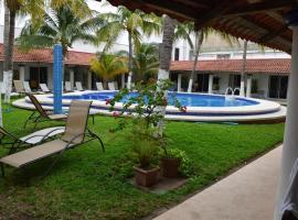Hotel Plaza Almendros, hotel en Isla Mujeres