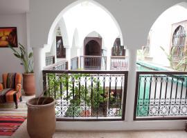 Riad Achwaq, riad em Marrakech