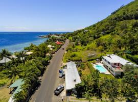Villa Vaiana EURL Vaiana Faratea officedu tourisme 1593DTO MT, hotel perto de Aeroporto Moorea - MOZ,