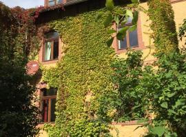 Ferienwohnung Huttenstraße Halle, hotel with parking in Halle an der Saale