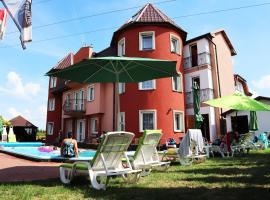 Atlantic, resort village in Chłopy
