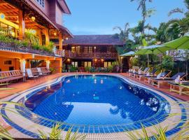 Chandara Boutique Hotel, hotel en Vientián