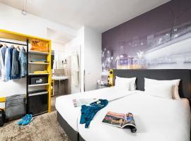 The Three Corners Hotel Anna, hotel a Blaha Lujza tér metróállomás környékén Budapesten