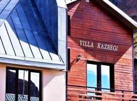 Villa Kazbegi, hotel in Kazbegi
