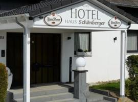 Hotel Garni Haus Schönberger, hotel in Heiligenhaus