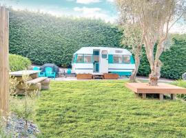 MountViews Glamping- retro caravan getaway, hotel in Taupo