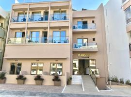 Marvel Deluxe Rooms, budget hotel in Heraklio Town