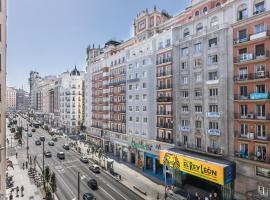 Hostal Santillan, habitación en casa particular en Madrid