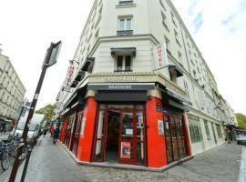 Hotel De La Poste, hotel near Simplon Metro Station, Paris